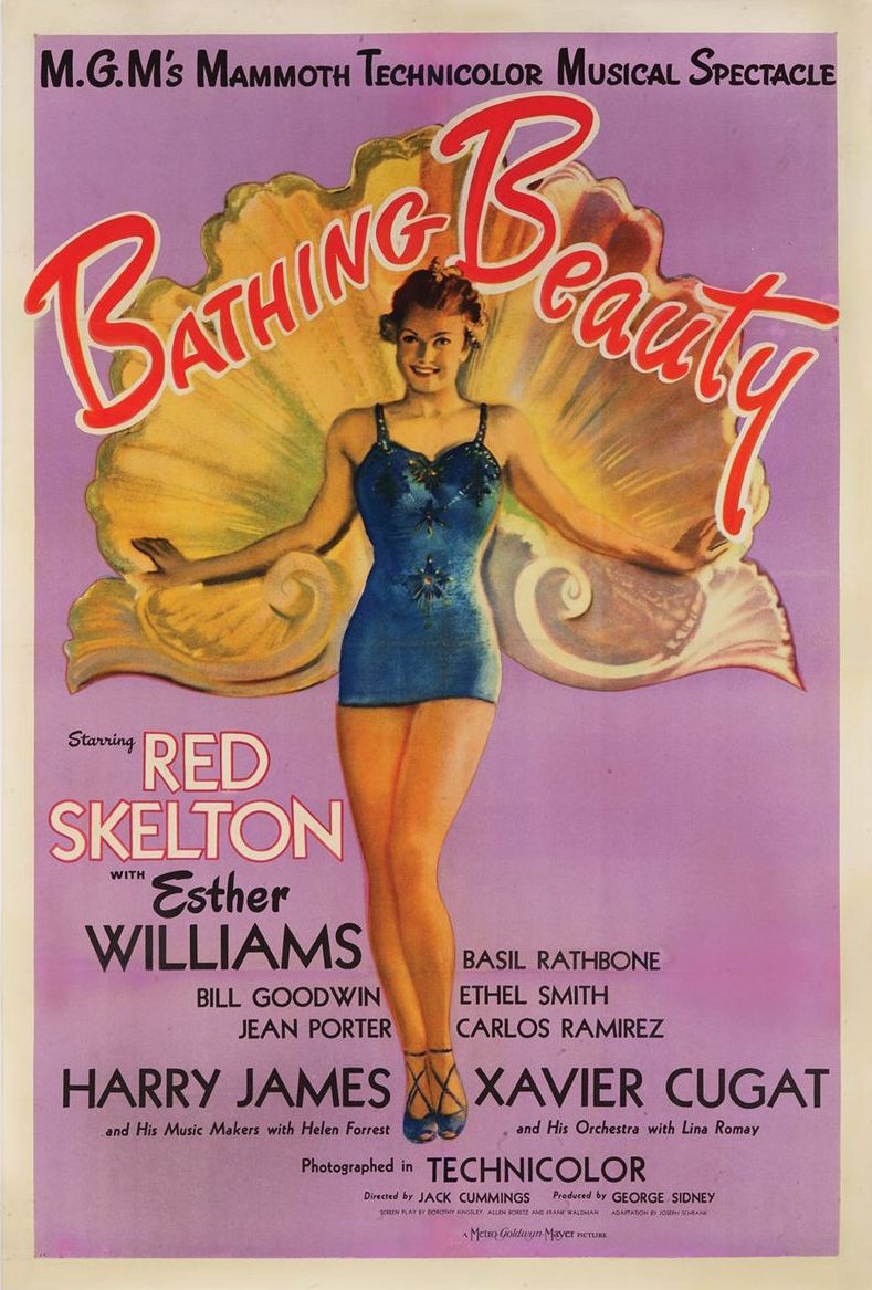 Movie Poster 1944 Bathing Beauty