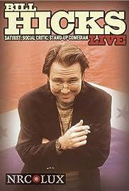 Bill Hicks Live: Satirist, Social Critic, Stand-up Comedian Poster