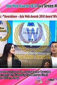 Young Man Kang and Anna Ward in Asia Web Awards 2018 (2018)