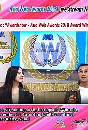 Asia Web Awards 2018 Poster