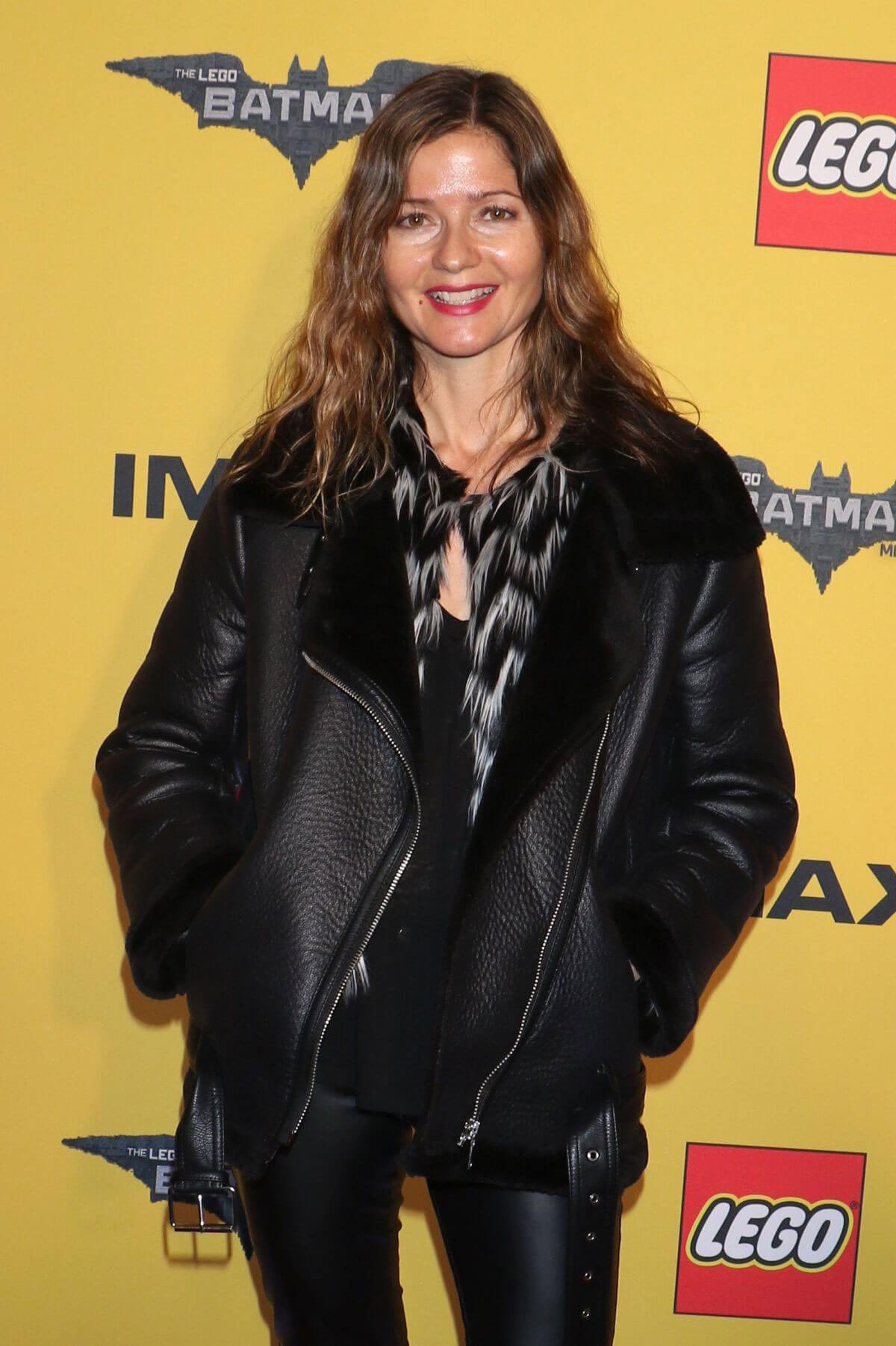 Jill Hennessy at an event for The Lego Batman Movie (2017)