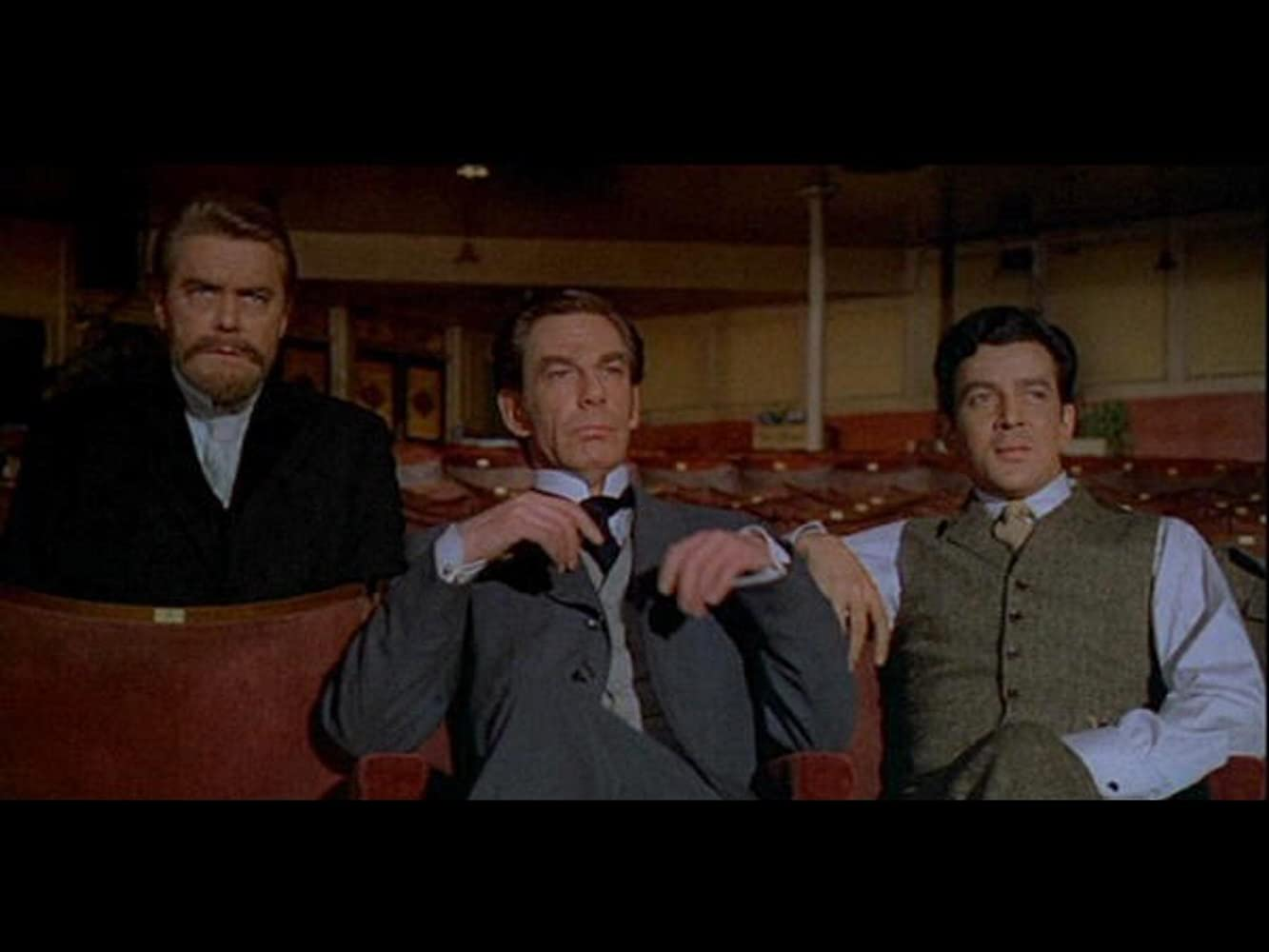 Michael Gough, Edward de Souza, and Thorley Walters in The Phantom of the Opera (1962)