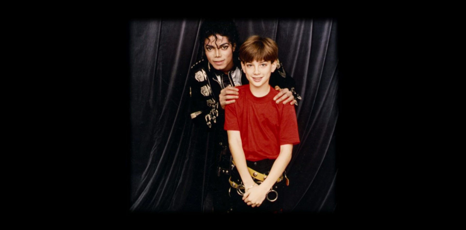Michael Jackson and Jimmy Safechuck in Leaving Neverland: The Aftermath (2019)