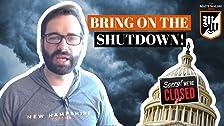 Donald Trump debería cerrar el gobierno