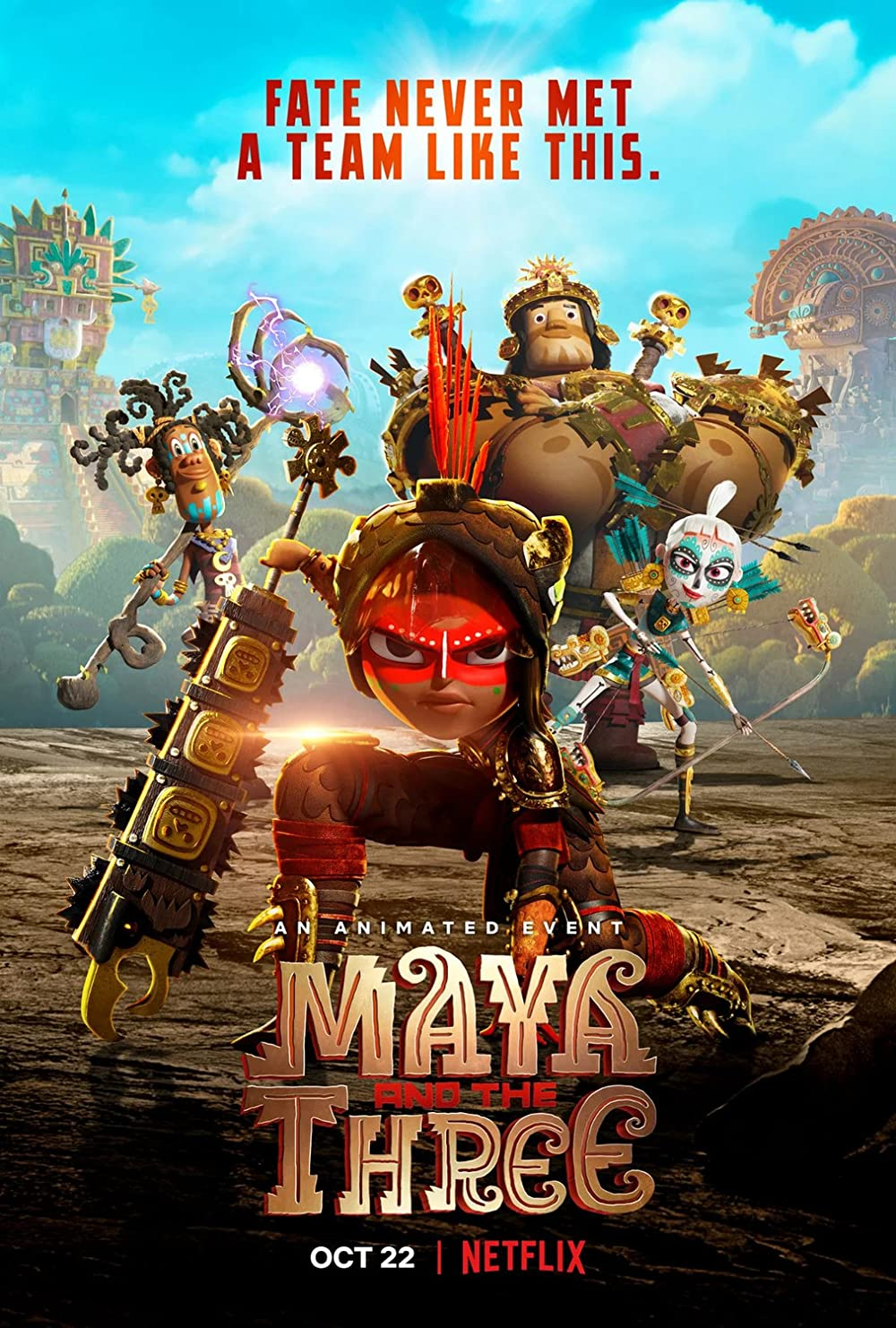 Maya and the Three 2021 S01 Complete Hindi Dubbed NF Series 720p HDRip 2.12GB Download