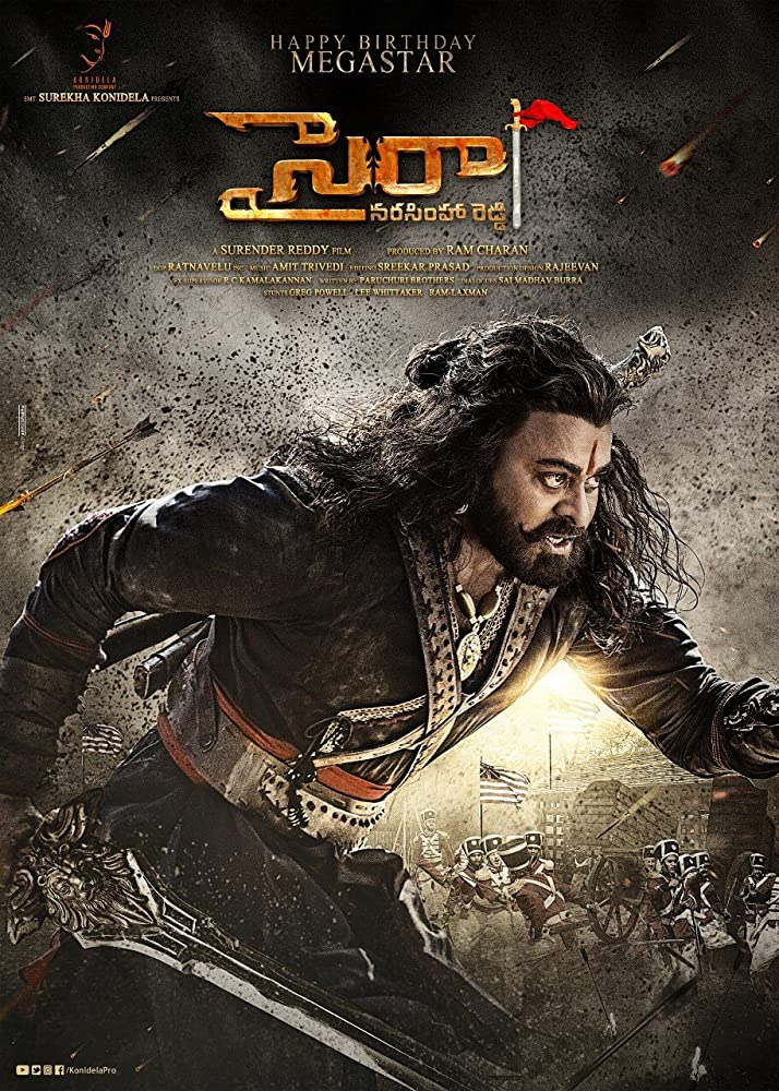 Sye Raa Narasimha Reddy 2019 Hindi Full Movie Official Trailer 720p HDRip 40MB Download