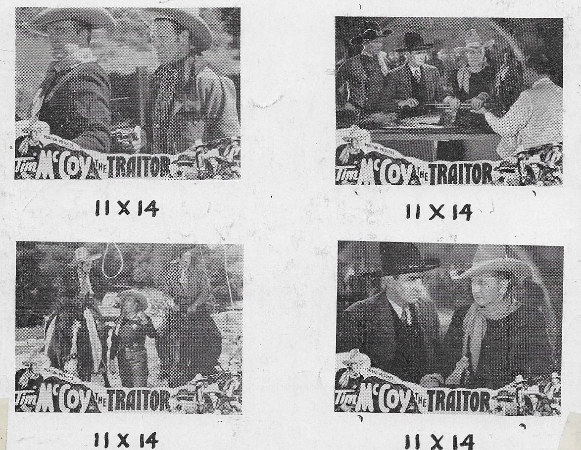 Tim McCoy, Dick Curtis, J. Frank Glendon, Frank McCarroll, and Pedro Regas in The Traitor (1936)