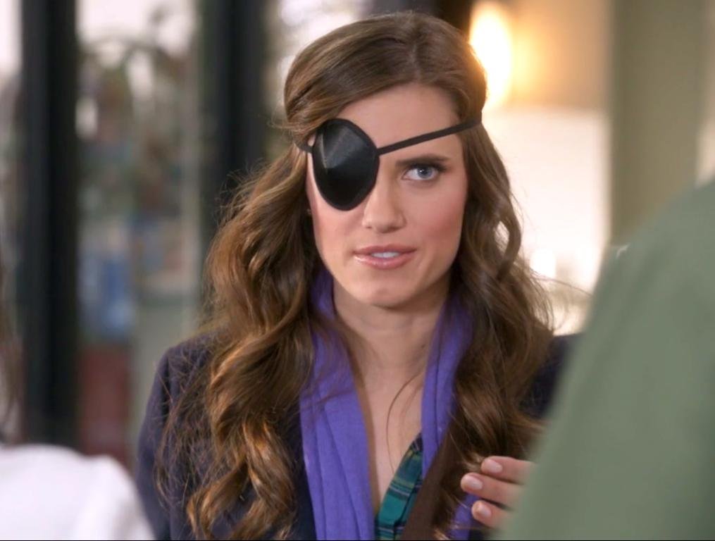 Allison Williams in The Mindy Project (2012)