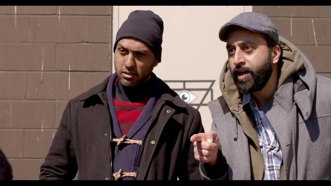 Richard Young and Faisal Butt in Fare Trade (2017)