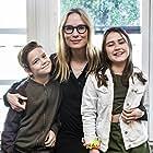 Moa Gammel, Nils Kendle, and Polly Stjärne in LasseMajas detektivbyrå - Tågrånarens hemlighet (2020)