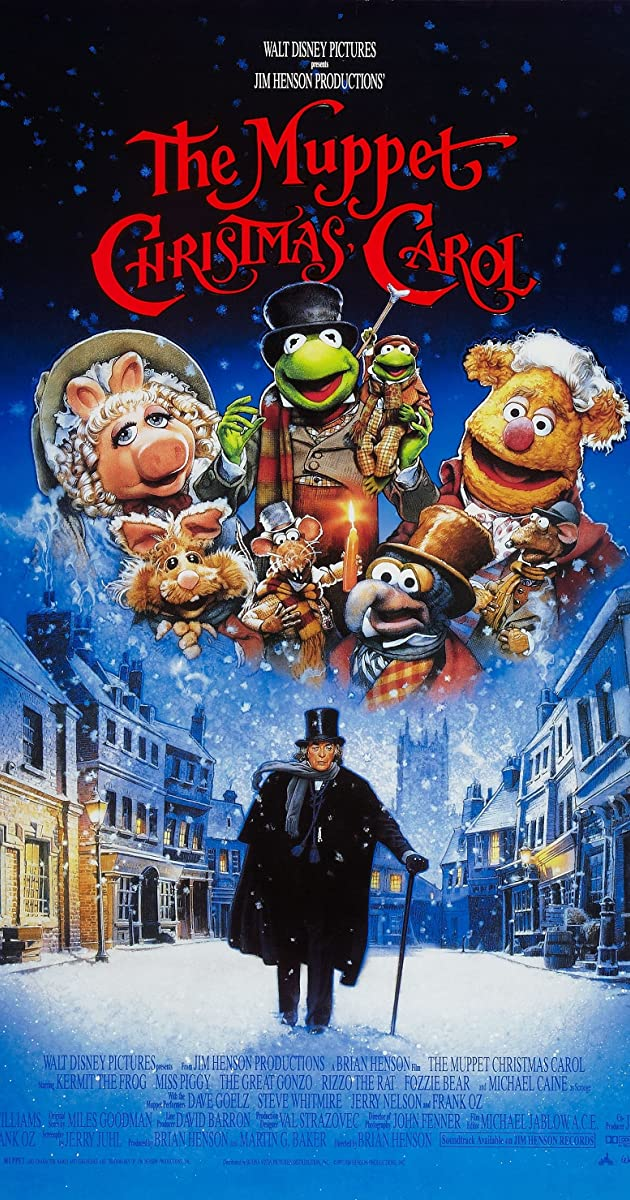 Tim Burton Christmas Carol.The Muppet Christmas Carol 1992 The Muppet Christmas
