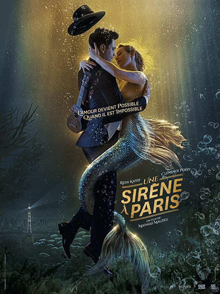 A Mermaid in Paris (2020) Dual Audio Hindi 350MB HDRip 480p Full Movie Free Download