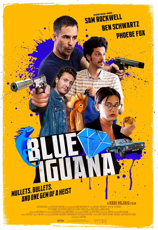 MĖLYNOJI IGUANA (2018) / BLUE IGUANA