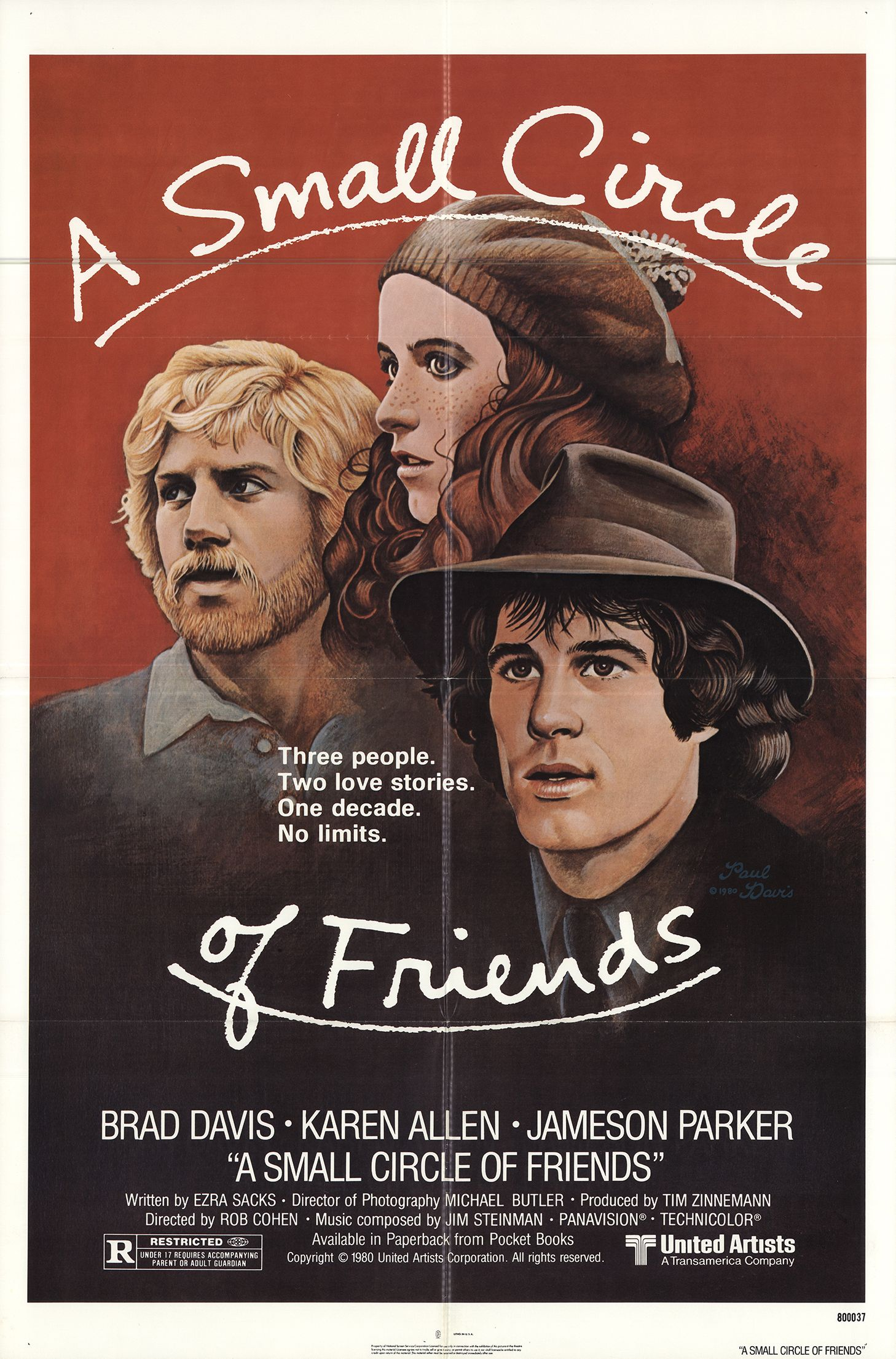 A Small Circle of Friends (1980)