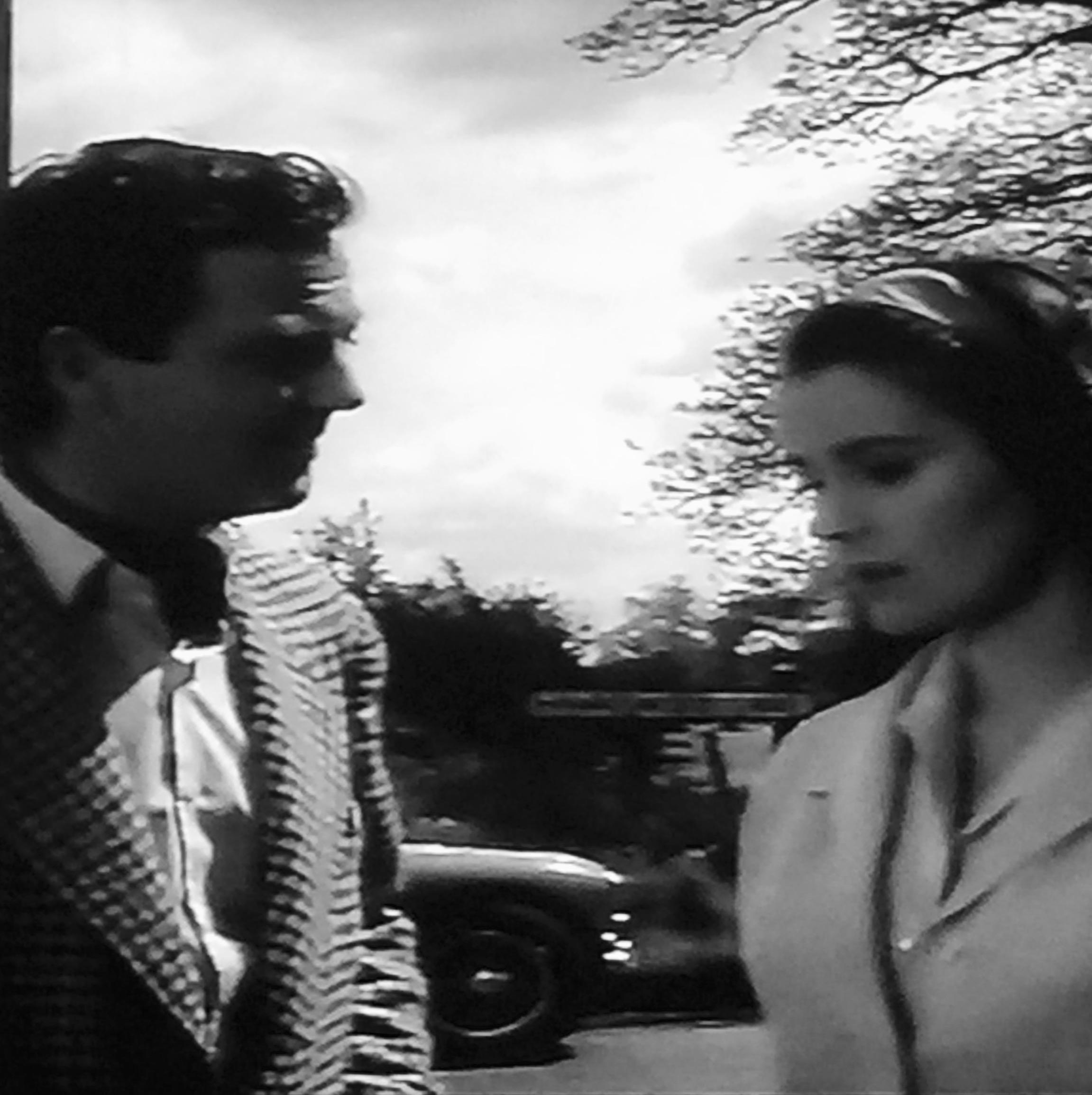 Christina Gregg and Robin Hunter in Don't Talk to Strange Men (1962)