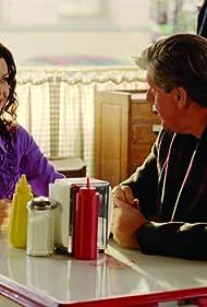 Edward Herrmann and Lauren Graham in Gilmore Girls (2000)