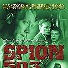 Max von Sydow, Margit Carlqvist, and Jørn Jeppesen in Spion 503 (1958)