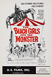 The Beach Girls and the Monster(1965) Poster - Movie Forum, Cast, Reviews