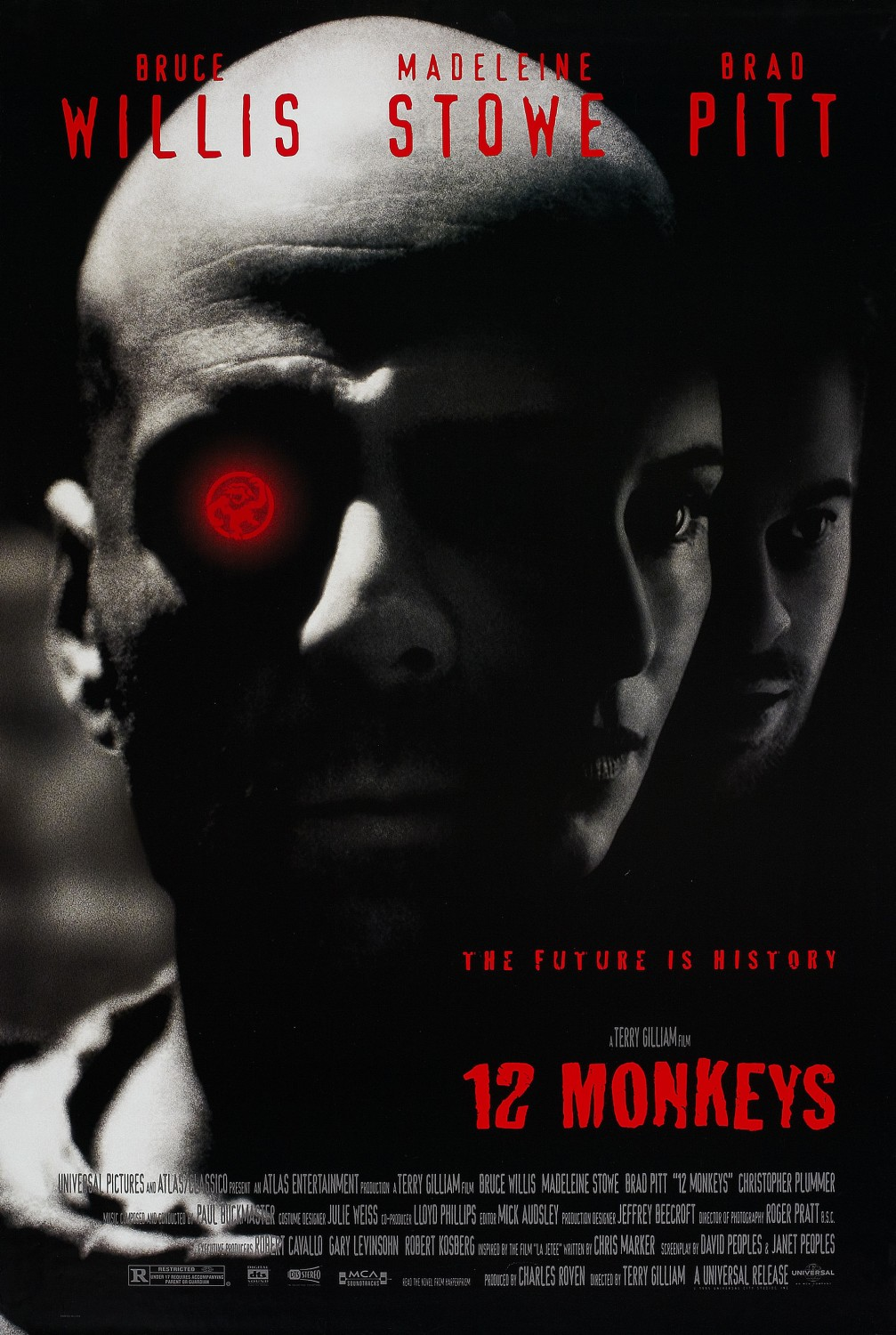 Twelve Monkeys (1995) BluRay 720p & 1080p