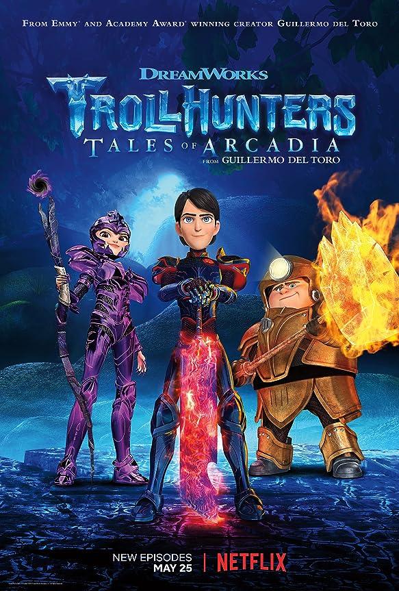 Trollhunters Tales of Arcadia (2021) Season 1 Hindi Dubbed (Netflix)