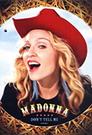 Madonna: Don't Tell Me Poster