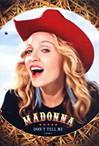 Primary photo for Madonna: Don't Tell Me
