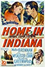 Walter Brennan, Jeanne Crain, Lon McCallister, and Miss Sarah Abbey in Home in Indiana (1944)