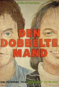 Peter Belli and Erik Wedersøe in Den dobbelte mand (1976)