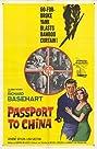 Passport to China (1960) Poster