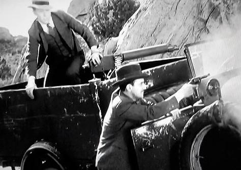Tom Keene and Eddie Phillips in Cross Fire (1933)