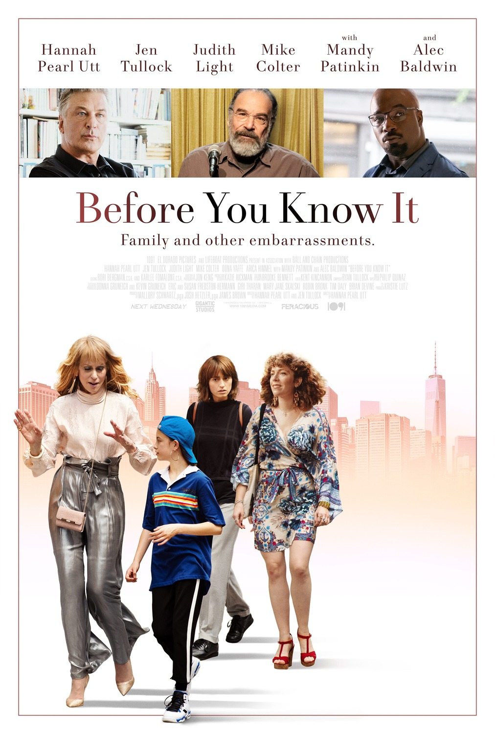 PRIES TAU SUŽINANT (2019) / Before You Know It