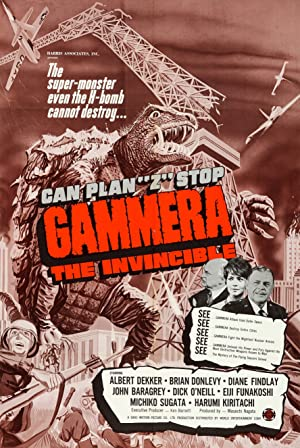 Where to stream Gammera the Invincible