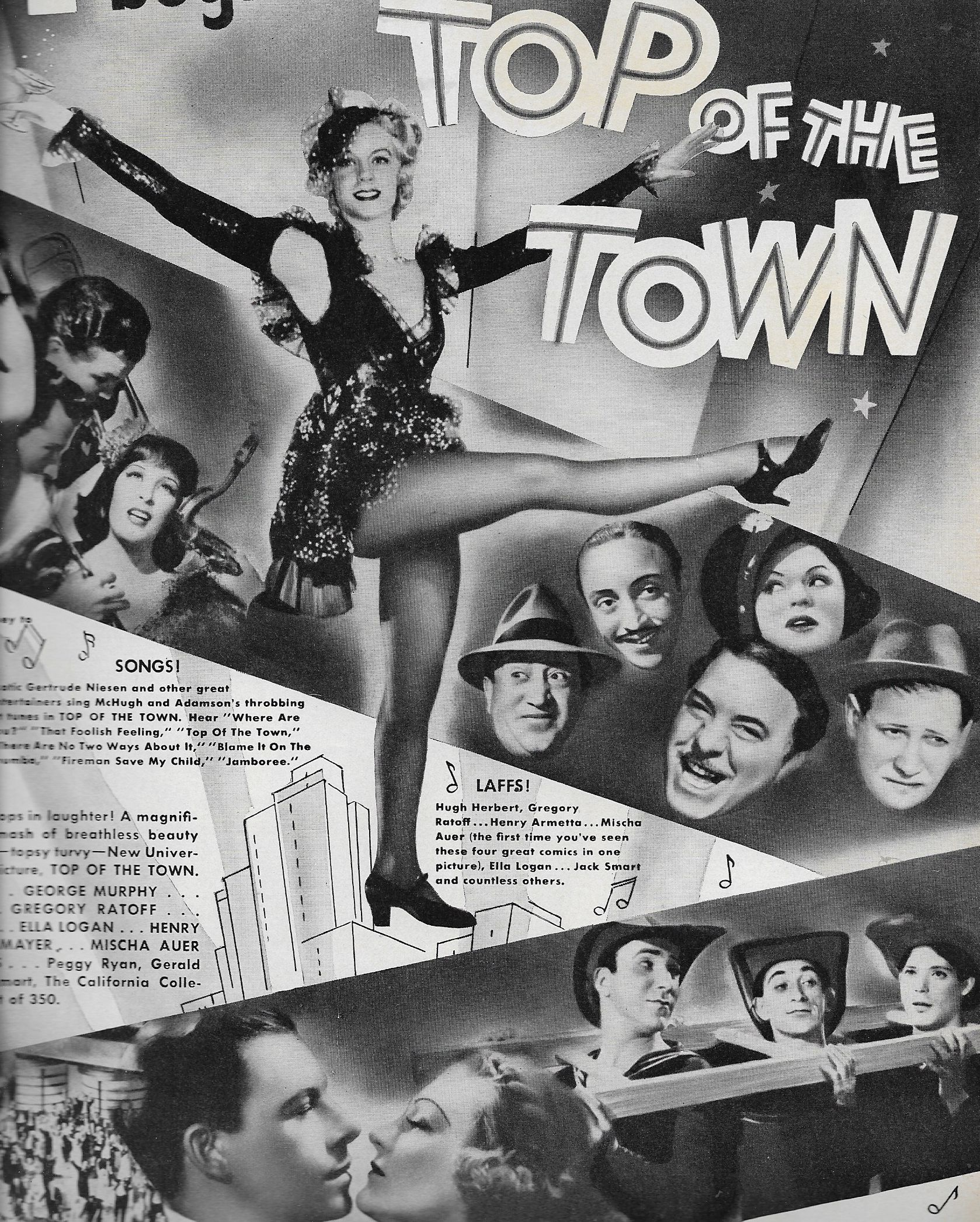 Top Of The Town 1937 Imdb