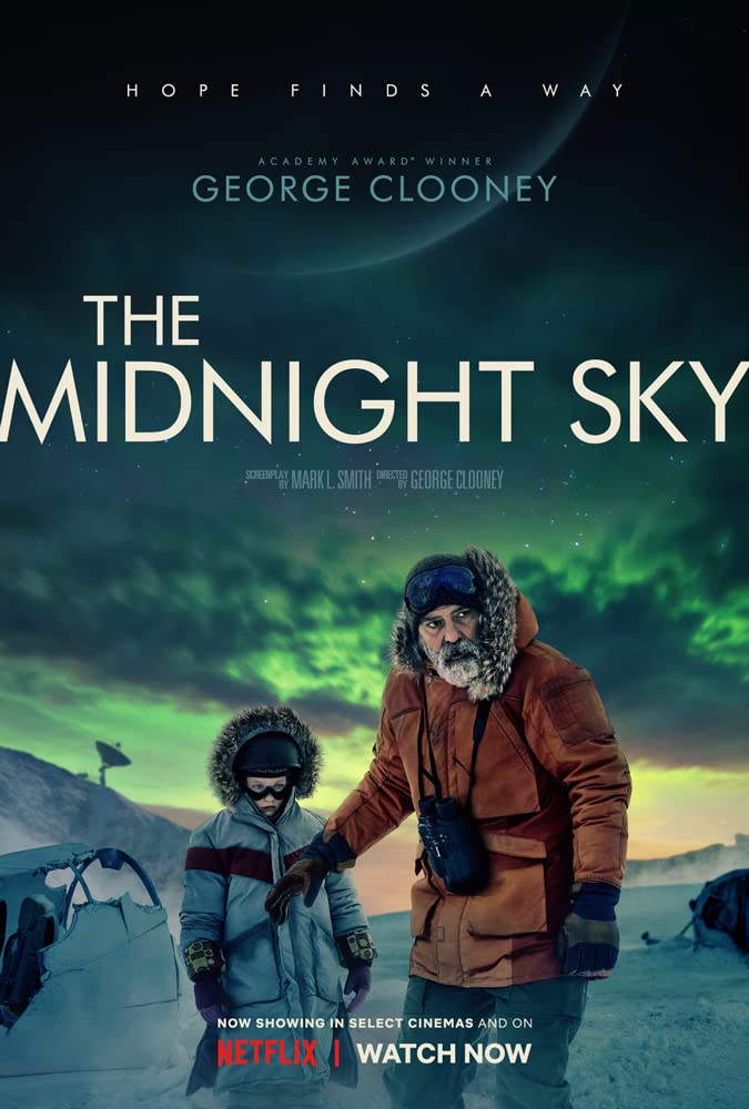 The Midnight Sky 2020 720p NF HDRip Dual Audio Hindi or English 1.2GB