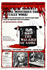 The Wizard of Gore (1970) Poster - Movie Forum, Cast, Reviews