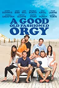 Leslie Bibb, Lindsay Sloane, Tyler Labine, Jason Sudeikis, Lake Bell, Michelle Borth, Angela Sarafyan, and Nick Kroll in A Good Old Fashioned Orgy (2011)