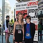 "Erin Pitt / CJ Adams at The Rhode Island Film Festival premier of ""Against the Wild"""