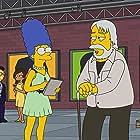 Julie Kavner and John Baldessari in The Simpsons (1989)