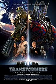 Anthony Hopkins, Mark Wahlberg, Erik Aadahl, Jim Carter, Peter Cullen, Laura Haddock, and Isabela Merced in Transformers: The Last Knight (2017)