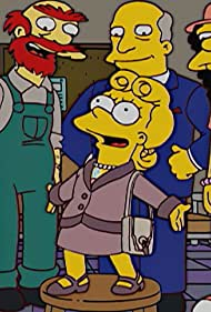 Tress MacNeille, Harry Shearer, and Yeardley Smith in The Simpsons (1989)