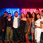 Executive producers Jon Avnet, Jake Avnet, Kerry Washington and Katie Mota at the Five Points Season Two premiere with Cast.