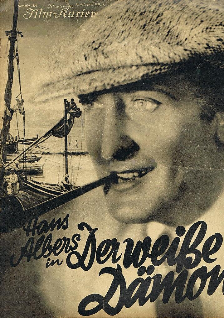 Hans Albers in Der weiße Dämon (1932)