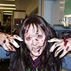 Rocking the Zombie look doubling Amber Tamblyn on House
