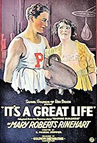 Cullen Landis and Molly Malone in It's a Great Life (1920)