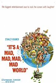 It's a Mad Mad Mad Mad World (1963) Poster - Movie Forum, Cast, Reviews