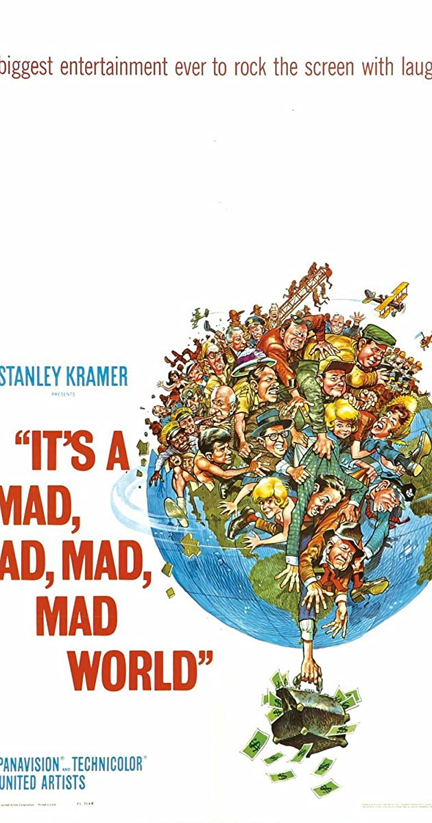 Play or Watch Movies for free It's a Mad Mad Mad Mad World (1963)