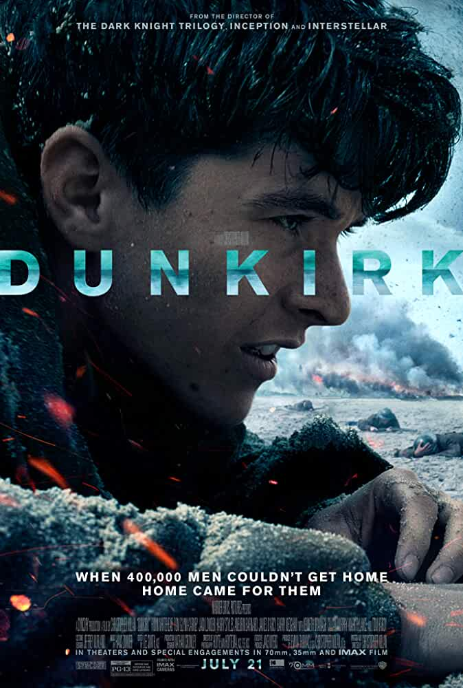 Download Dunkirk (2017) Dual Audio {Hindi-English} 720p [900MB] BluRay