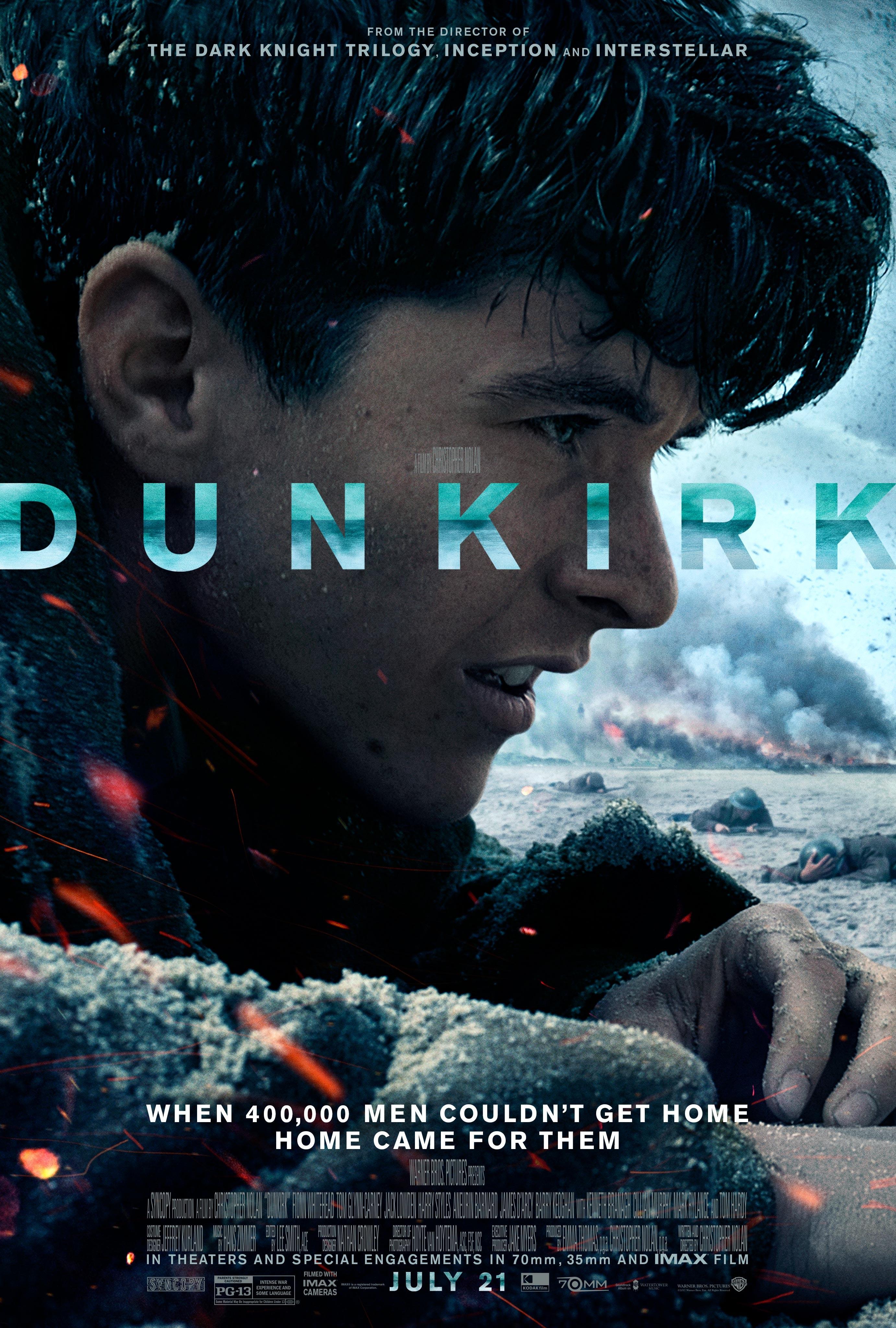 Dunkirk (2017) BluRay 480p, 720p & 1080p