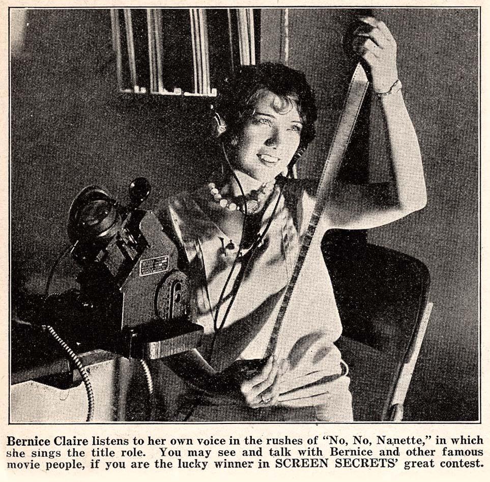 Bernice Claire in No, No, Nanette (1930)