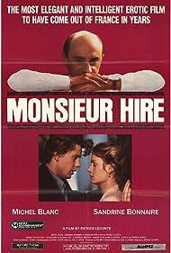 Michel Blanc, Sandrine Bonnaire, and Luc Thuillier in Monsieur Hire (1989)